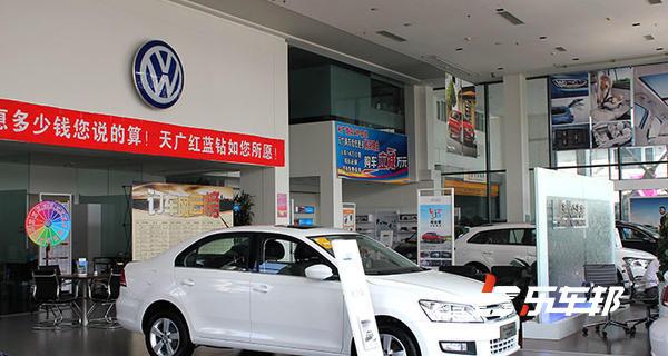沈阳天广德众上海大众4S店