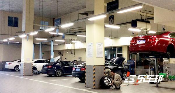 上海英之杰4S店