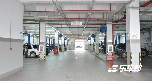 武汉康顺捷路捷豹路虎4S店