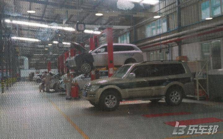 Outlander 欧蓝德4S店保养