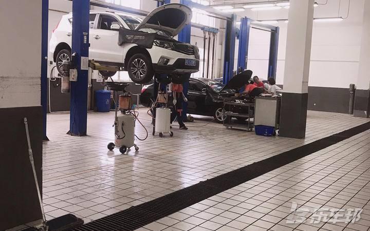 远景SUV4S店保养